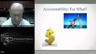 Webinar: Accountability