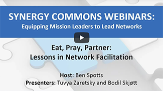 Eat, Pray, Partner: Lessons in Network Facilitation